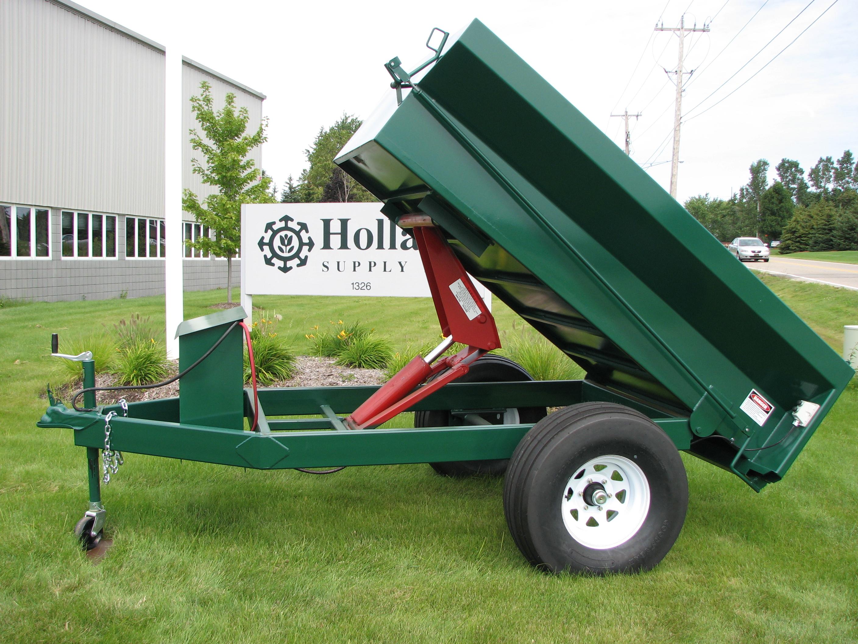 hydraulic dump trailer