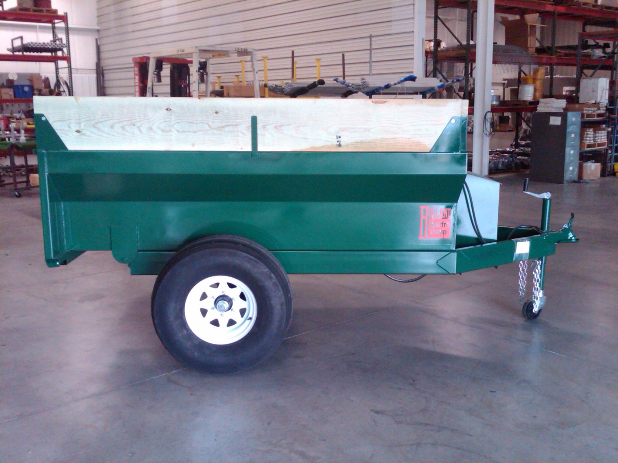 modified dump trailer