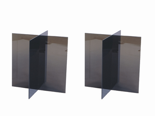 bronze acrylic supports