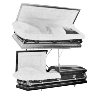 casket display rack