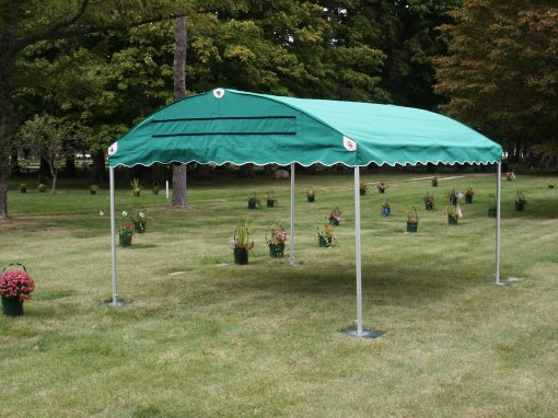 oval steril tent