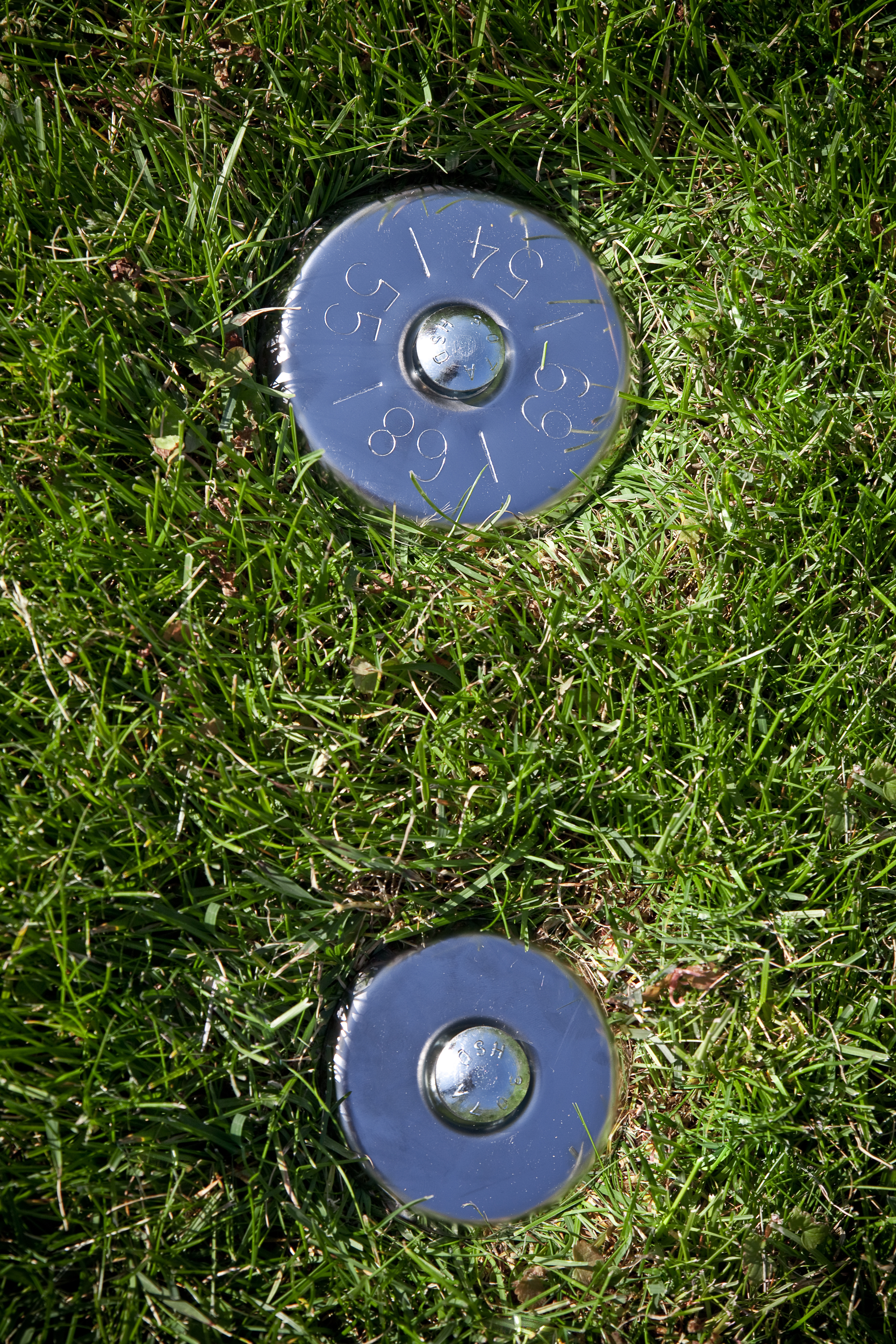 Stainless Steel Lot Markers