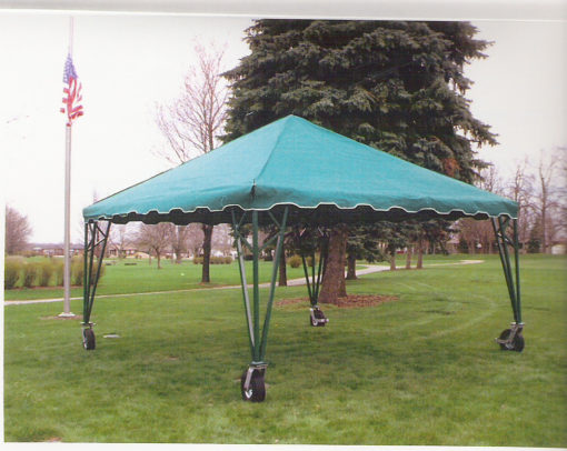 cemetery rolling tent