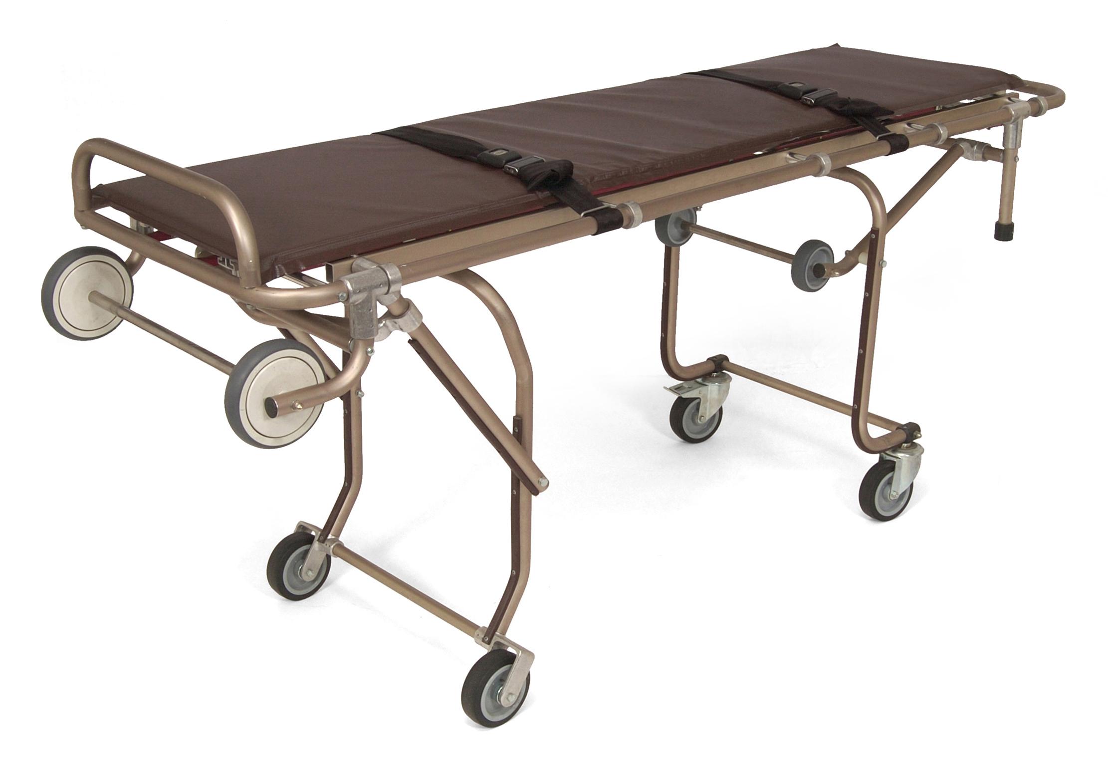 oversize mortuary cot