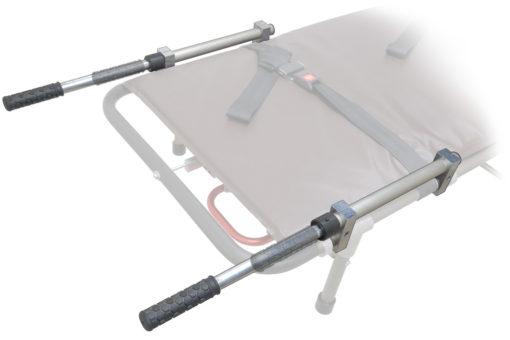 mortuary cot extension handles