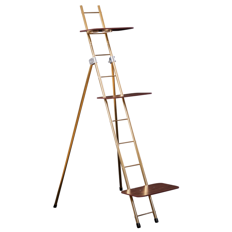 flower ladder rack