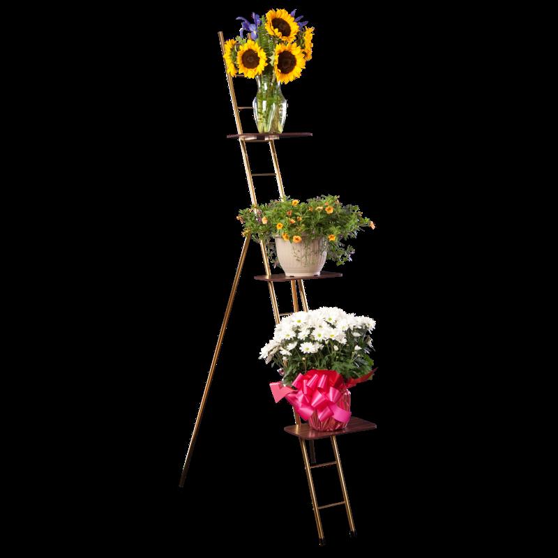 funeral ladder rack