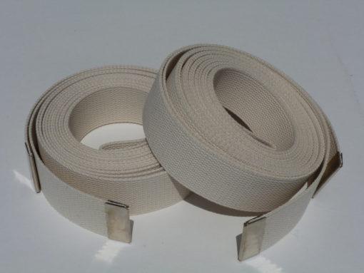 hand lowering straps