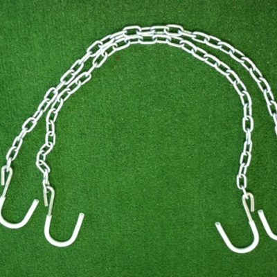 lowering device safety chains