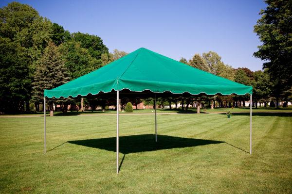 hillside funeral tent