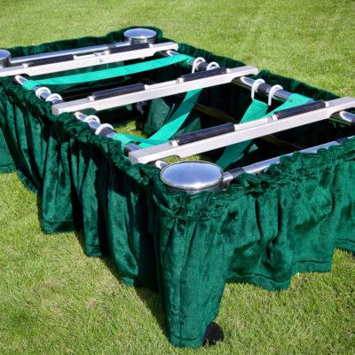 casket roller bars