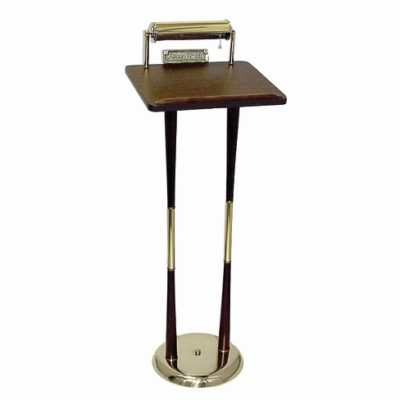 funeral register stand