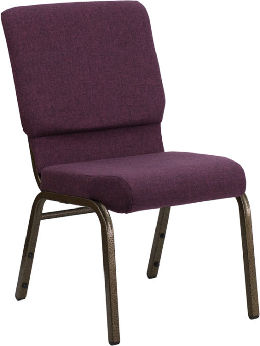 padded funeral chair