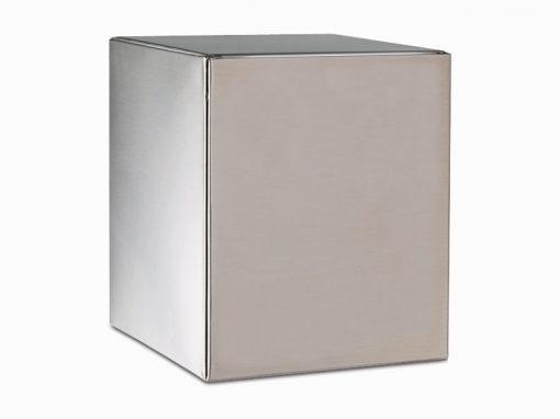 stainless sheet metal urn