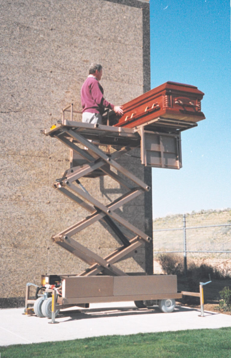 Mausoleum Lift