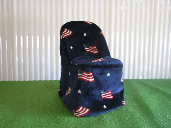 patriotic chair cover