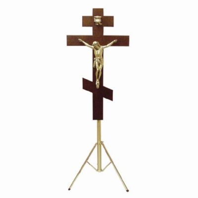 russian orthodox funeral crucifix