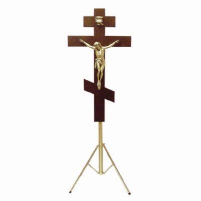 russian orthodox funeral crucifix