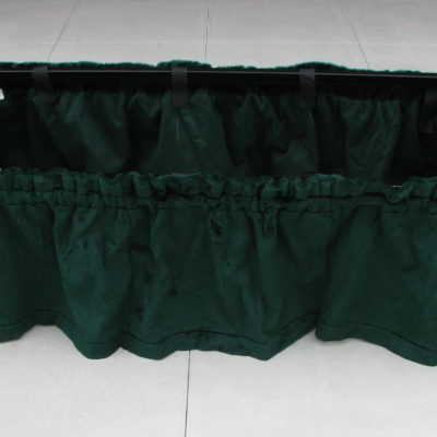 lowering device stand drape
