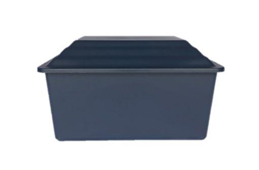 navy urn vault