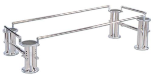 telescoping device stand