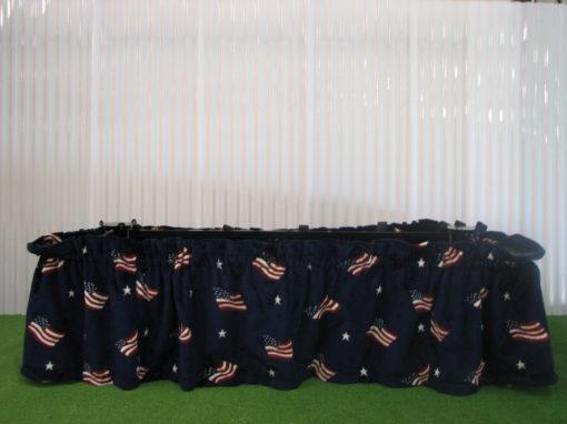 patriotic drape