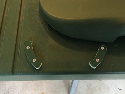 burial platform safety knobs