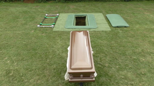 safety burial platform