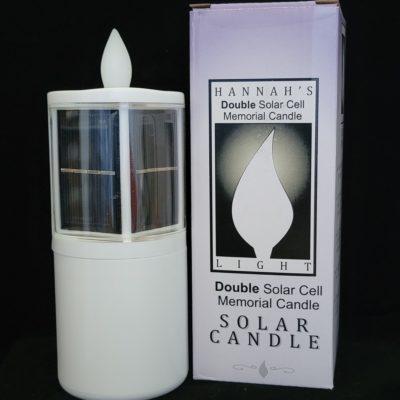 solar cemetery candle light
